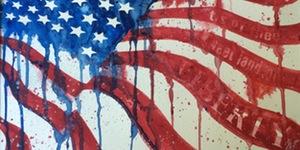 Wet Palette Paint Party - Liberty Flag Cheese Louise Richland, Washington