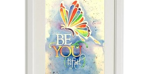 Wet Palette Paint Party - BeYOUtiful Butterfly In Richland, Washington