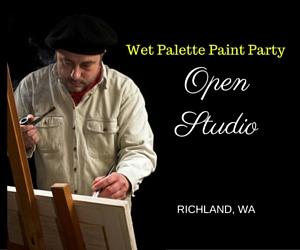 Wet Palette Paint Party - Open Studio: Explore Your Art Potential | Richland, WA