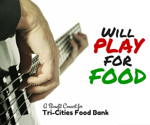 Will Play for Food: Watch a Concert and Save Fellow Tri-Citians From Hunger in West Richland, WA