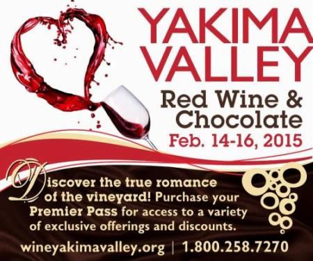 Yakima Valley Red Wine & Chocolate Weekend Event Tri Cities, Washington