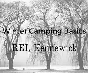 Winter Camping Basics in REI, Kennewick