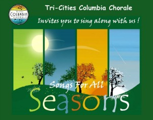 Tri-Cities Columbia Chorale Presents 'The Winter Concert' - Songs for All Seasons | Richland, WA