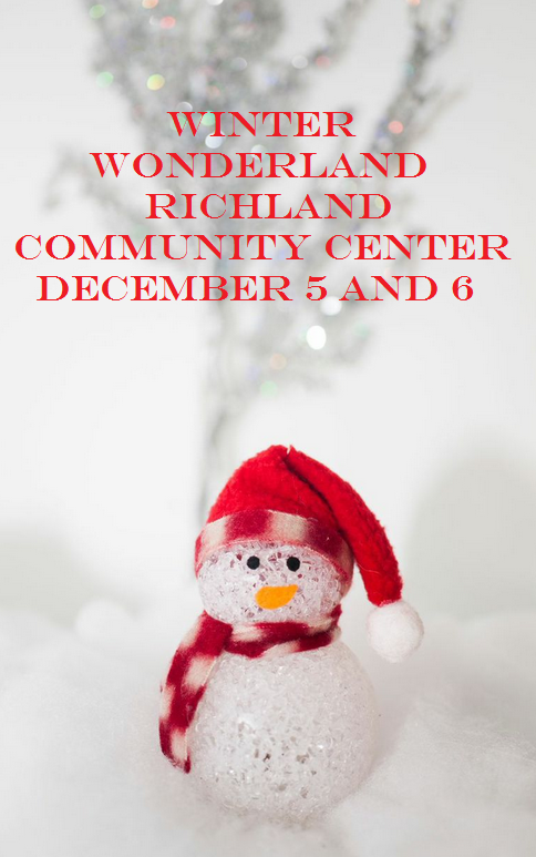 Winter Wonderland At Richland Community Center In Richland, Washington