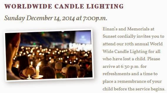 10th Annual World Wide Candle Lighting In Richland, Washington