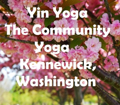 Yin Yoga At The Community Yoga In Kennewick, Washington