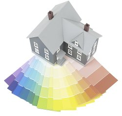 real estate house painting, home paint