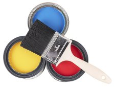 painting real estate home, house paint