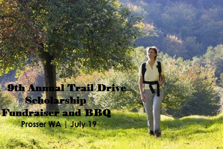 9th Annual Trail Drive Scholarship Fundraiser And BBQ In Prosser Washington