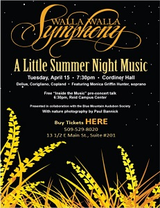 Symphony Series – A Little Summer Night Music in Walla Walla