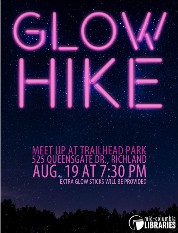 Glow Hike Badger Mountain Richland WA