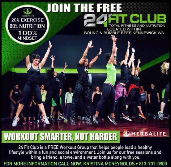 free 24 fit team tri cities