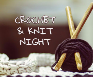crochet and knit night