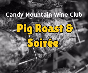 candy mountain wine club roast pig and soiree