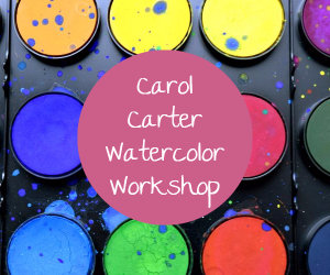 carol carter watercolor workshop