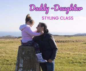 daddy daughter styling class image