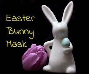 Toddler Activity Time Featuring Easter Bunny Mask At Barnes