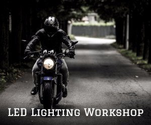 LED lighting workshop image