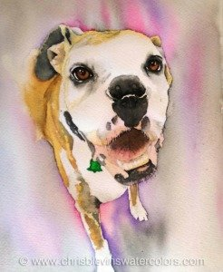 Paint Your Pet Watercolor Workshop with Chris Blevins
