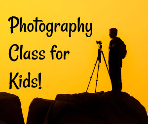 photography class for kids image