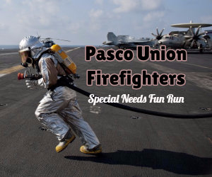 Pasco Firefighters Special Needs Fun Run