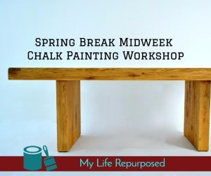 Spring Break Midweek Chalk Painting Workshop
