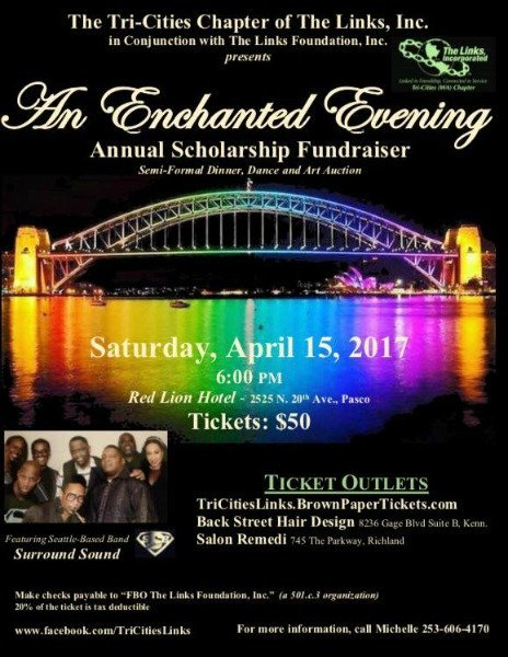 an enchanted evening gala poster