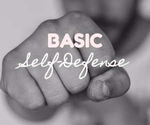 basic self defense image