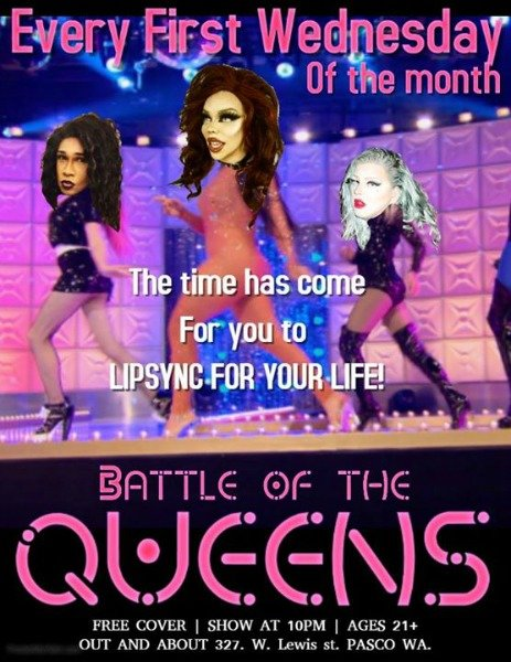 battle of the queens poster
