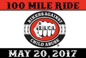 Bikers Against Child Abuse: 100 Mile Ride