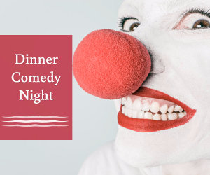back to the future dinner comedy night