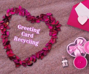 greeting card recycling image