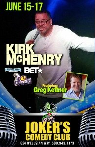 Kirk McHenry Comedy Show
