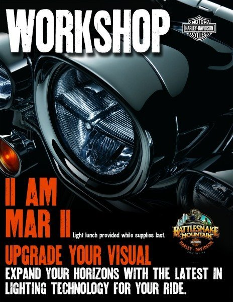 LED Lighting Workshop poster