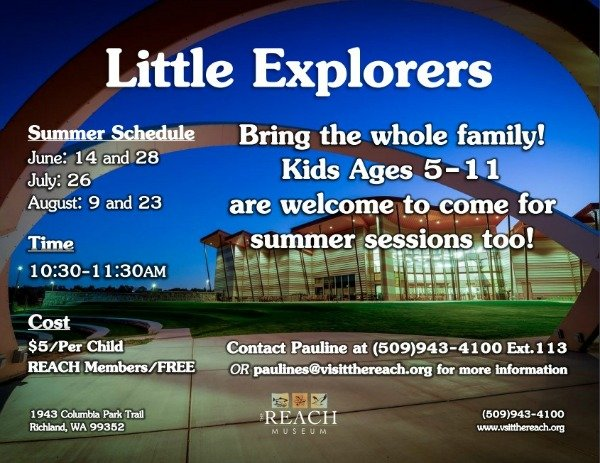 Little Explorers Summer Event