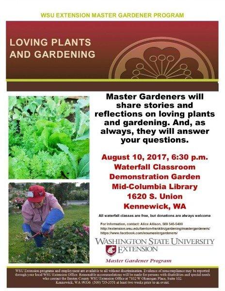 Loving Plants Gardening Wsu Master Gardener Program Presentation In Kennewick