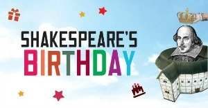 shakespeare's birthday party