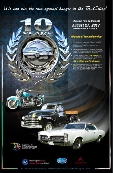 show and shine poster