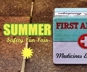 summer safety fun fair