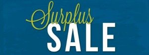 surplus sale