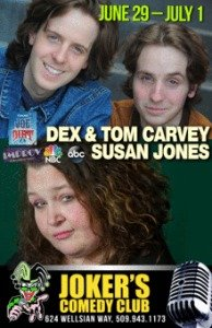 susan jones comedy show