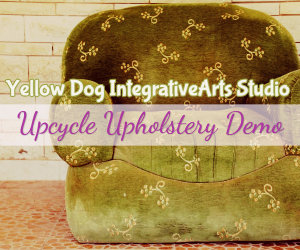 upcycle upholstery demo