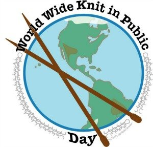 world knit in public day
