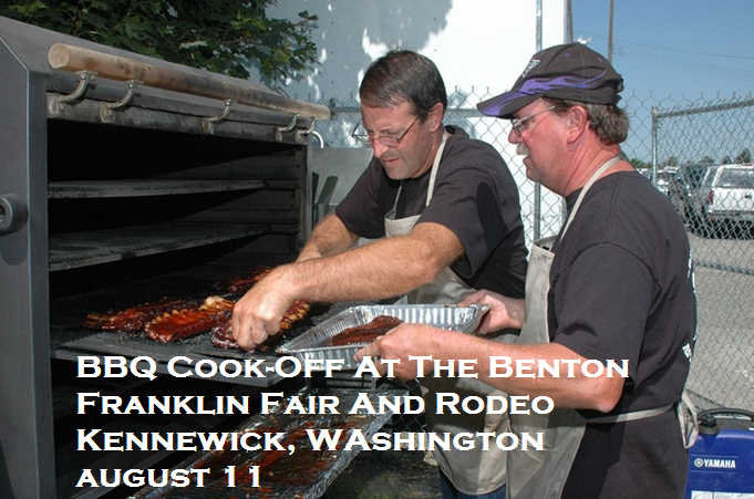 BBQ Cook-Off At The Benton Franklin Fair And Rodeo Kennewick, WA