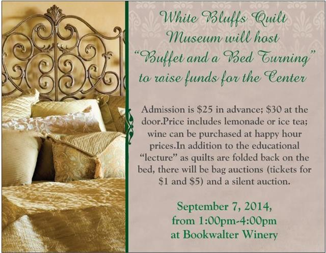 BedTurning & Buffet At Bookwalter Winery In Richland, Washington