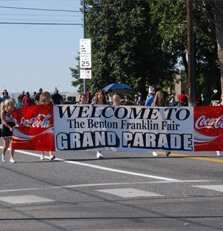 Benton Franklin Fair & Rodeo Grand Parade In Kennewick, Washington