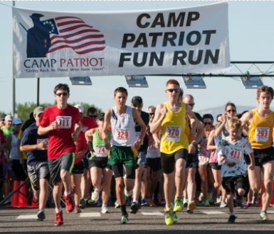 Camp Patriot 4th Of July Fun Run In Gesa Stadium Pasco, Washington