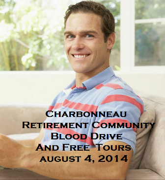 Charbonneau Retirement Community Blood Drive And Free Tours Kennewick Washington