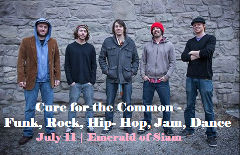 Cure for the Common-Funk, Rock, Hip-Hop, Jam, Dance In Richland WA