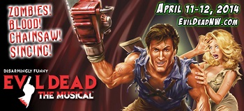 Evil Dead the Musical at Walla Walla's Power House Theatre